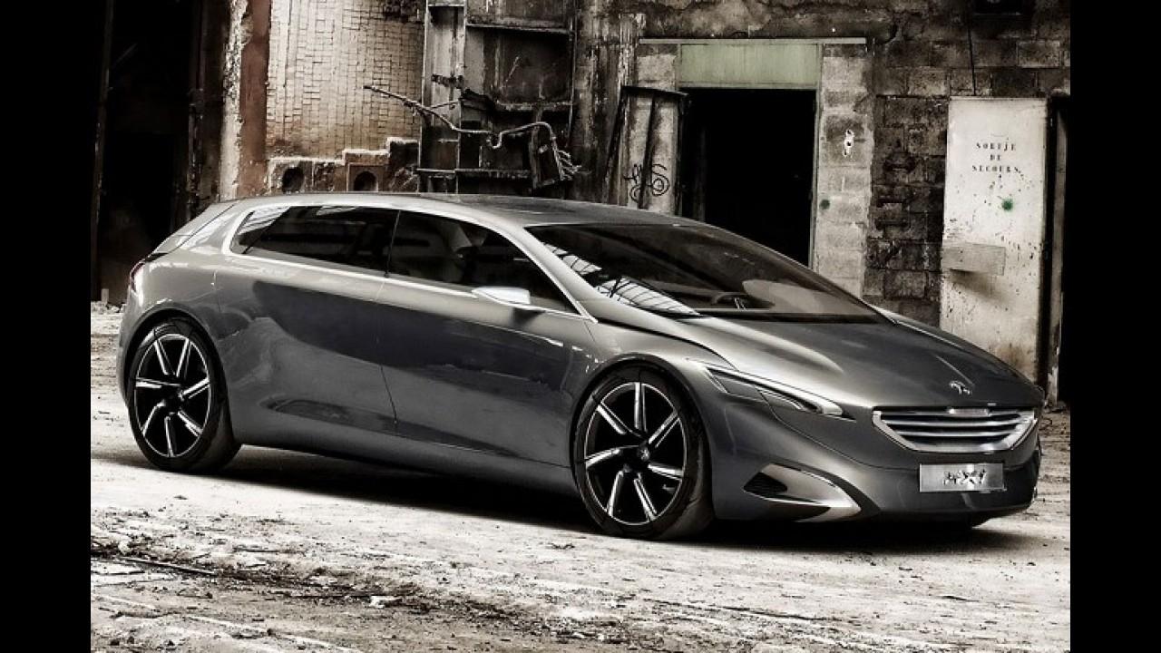 Projeção: Peugeot 608 2014