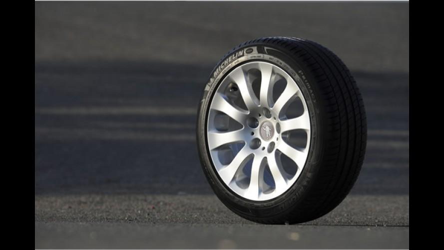 Pneu MICHELIN Primacy 3: freia melhor no seco e molhado e oferece melhor aderência