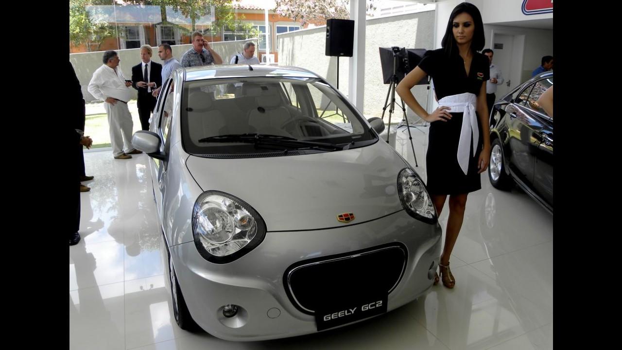 Geely confirma cinco modelos no Salão do Automóvel em SP