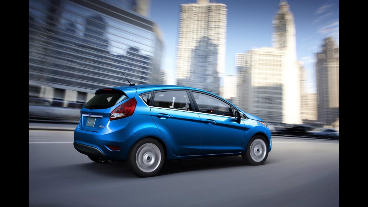 """Agora é oficial! Novo Ford Fiesta """"europeu"""" chega ao Brasil ainda em 2010"""