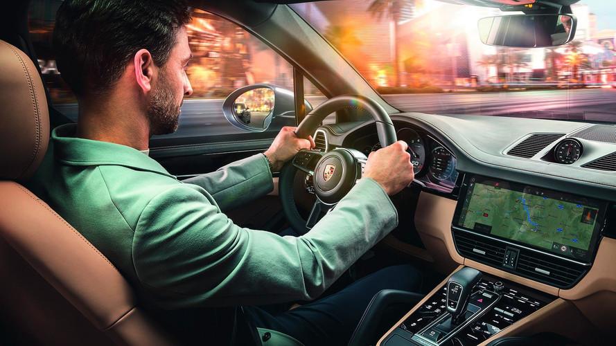 Porsche Connect Plus Cayenne