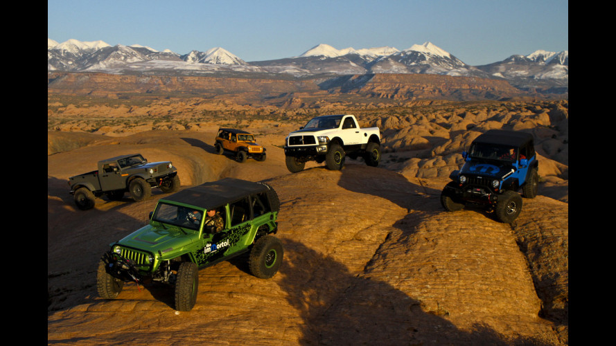 "Jeep e Ram ""Moparized"" al Moab Easter Jeep Safari"