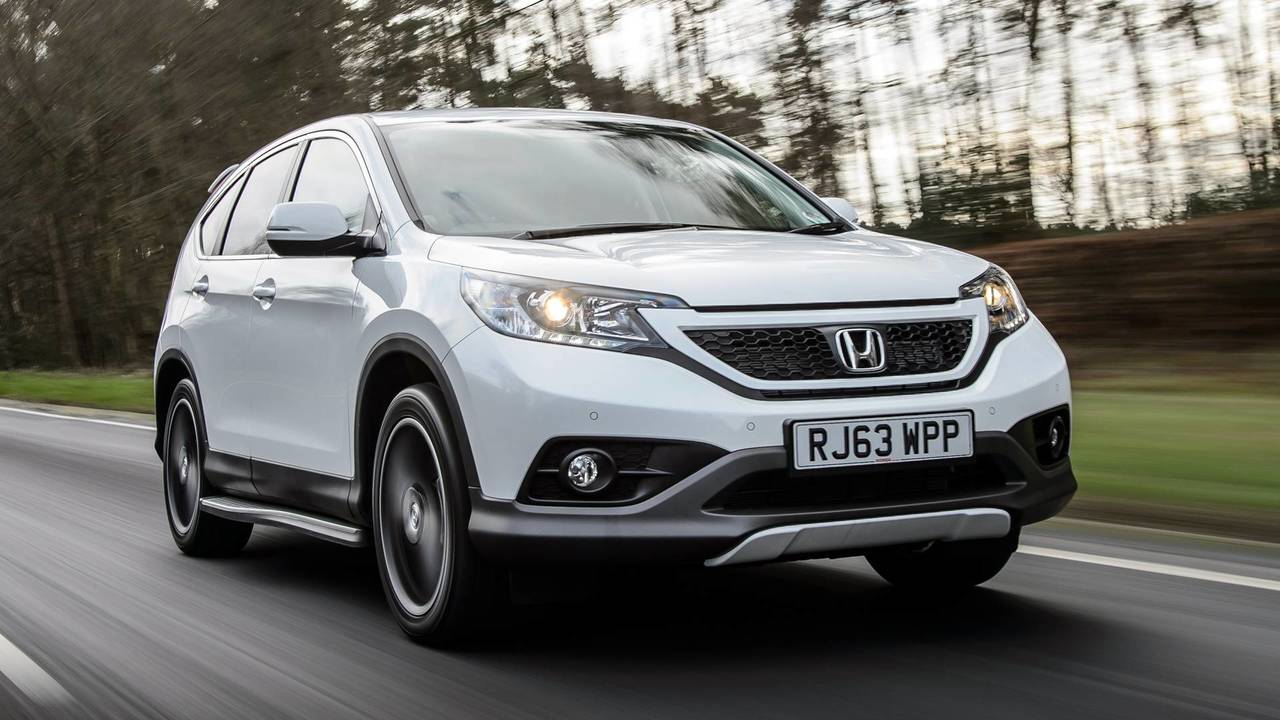 2014 Honda CR-V White Edition
