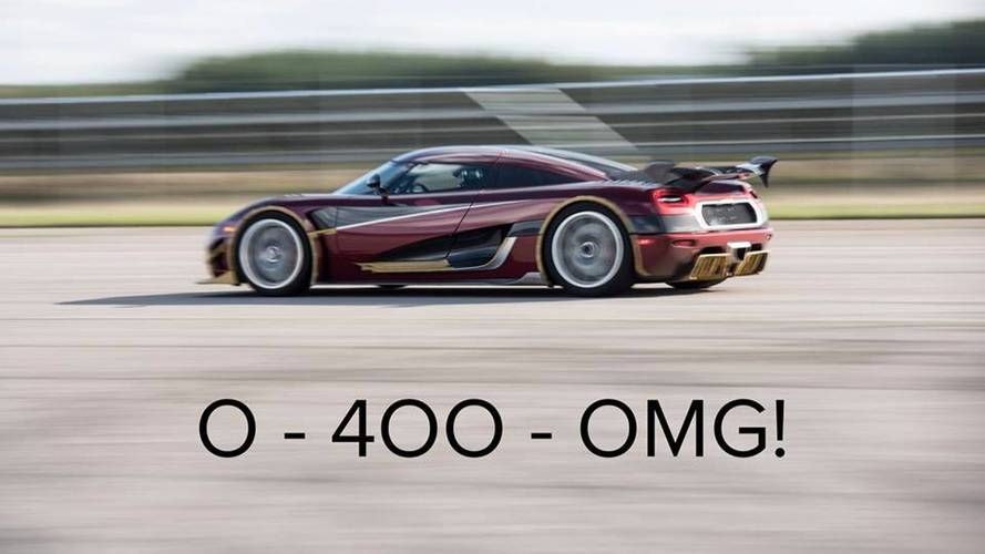 Et si Koenigsegg avait battu Bugatti sur le 0-400-0 km/h ?