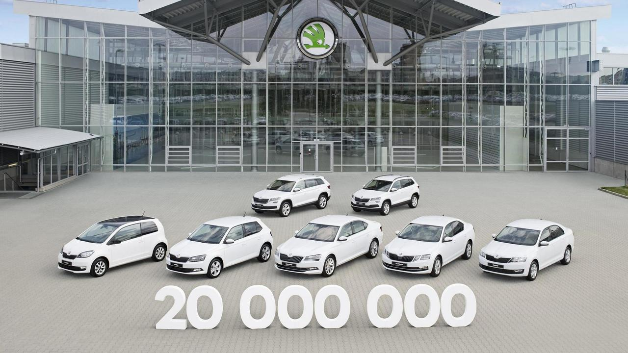 Skoda 20 millionth vehicle