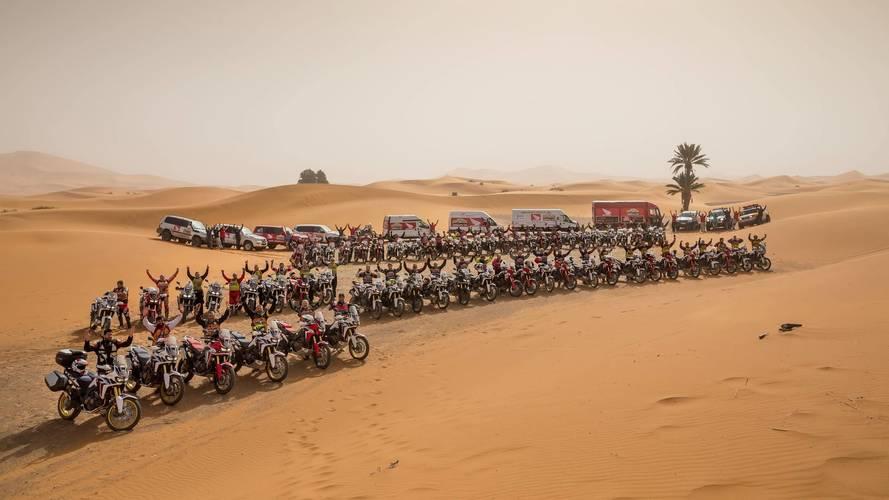 Honda España anuncia la segunda edición de la Africa Twin Morocco Epic Tour