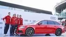 Bayern Münih oyuncuları Audi'lerine kavuştu