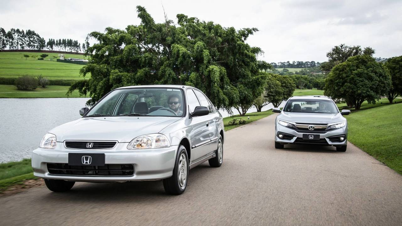 Honda Civic 1997 - O primeiro nacional
