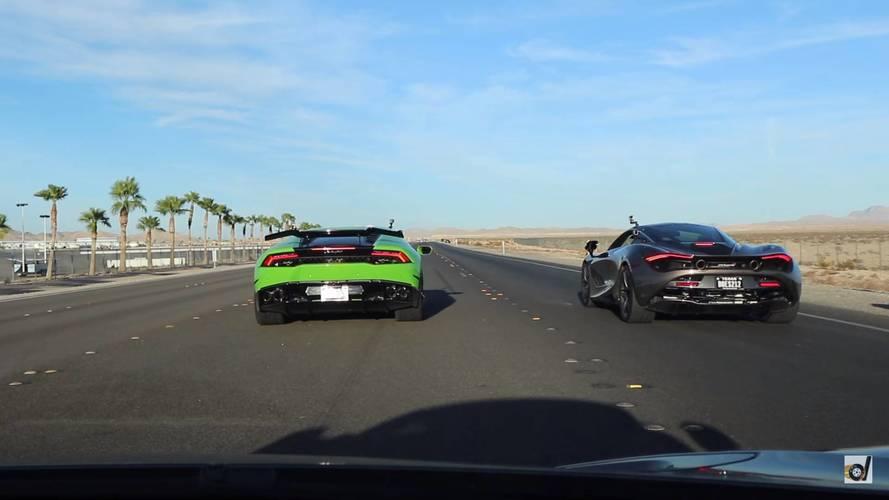 VIDÉO - Quand la McLaren 720S déchiquette la Lamborghini Huracán