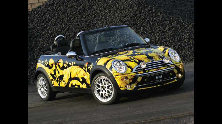 Mini Cooper cabrio by Versace