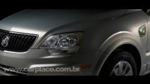 Captiva Híbrido? GM mostra teaser de um novo utilitário híbrido da marca Buick
