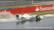 CARPLACE no GP Brasil de F1:  Barrichello larga na pole position em Interlagos e Button em 14°