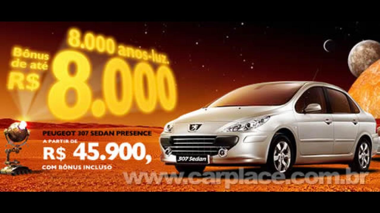 Peugeot oferece 307 Sedan por R$ 45.900 e 207 SW por R$ 37.900