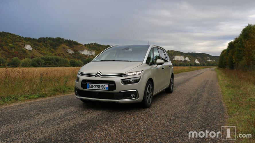 Essai Citroën Grand C4 Picasso (2016) - Est-il toujours le leader ?