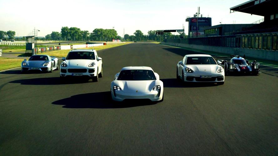 Porsche, E-Performance serisini tanıttı