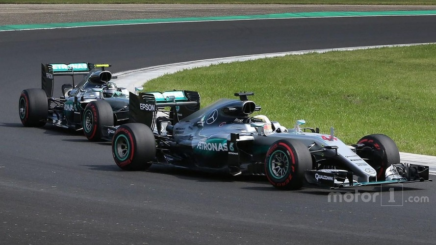 Mercedes boss says dealing with Hamilton/Rosberg clashes is