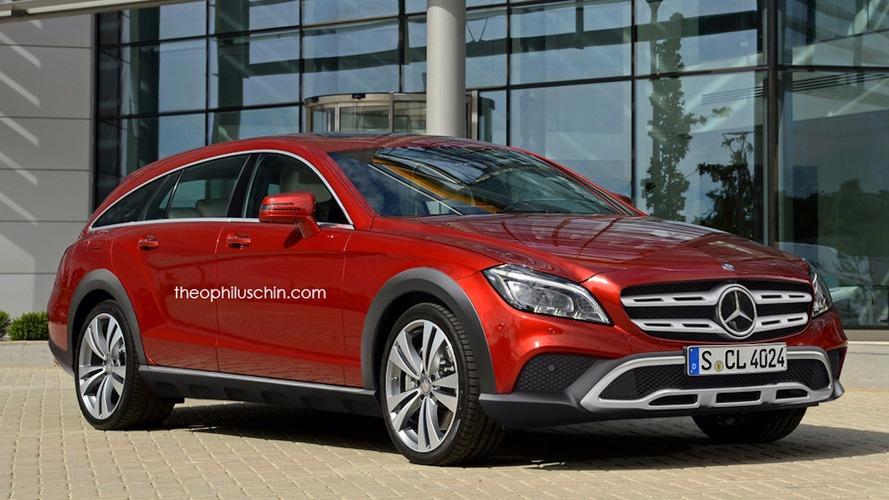 Mercedes CLS All-Terrain - Un rendu assez original