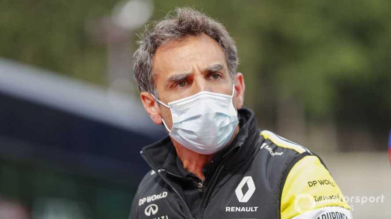 Cyril Abiteboul at Belgian GP 2020
