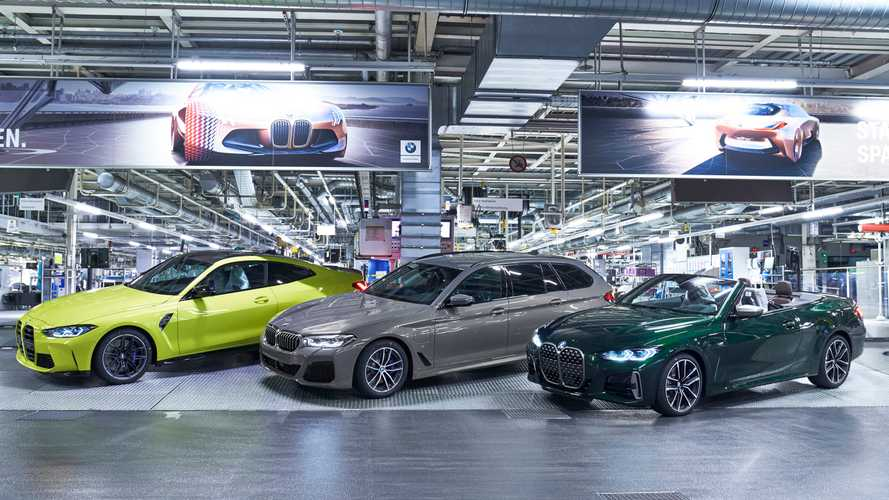 It's grilling time as 2021 BMW M3 and M4 enter production