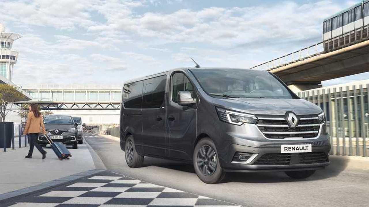 Nuovo Renault Trafic SpaceClass - trequarti anteriore