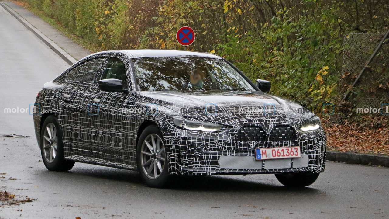 BMW 4 Serisi Gran Coupe Casus Fotoğraflar