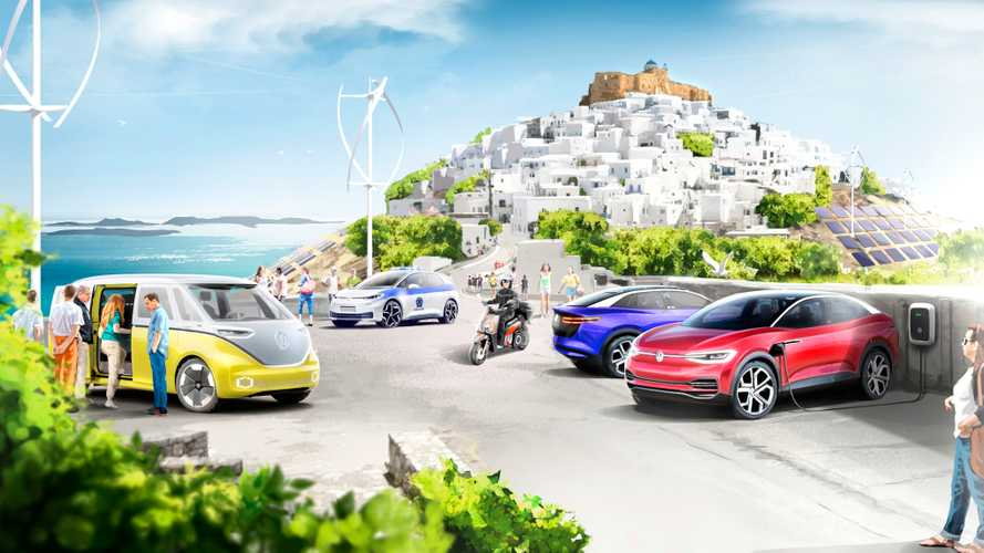 Volkswagen Group To Electrify Greek Island Of Astypalea With 1,000 EVs