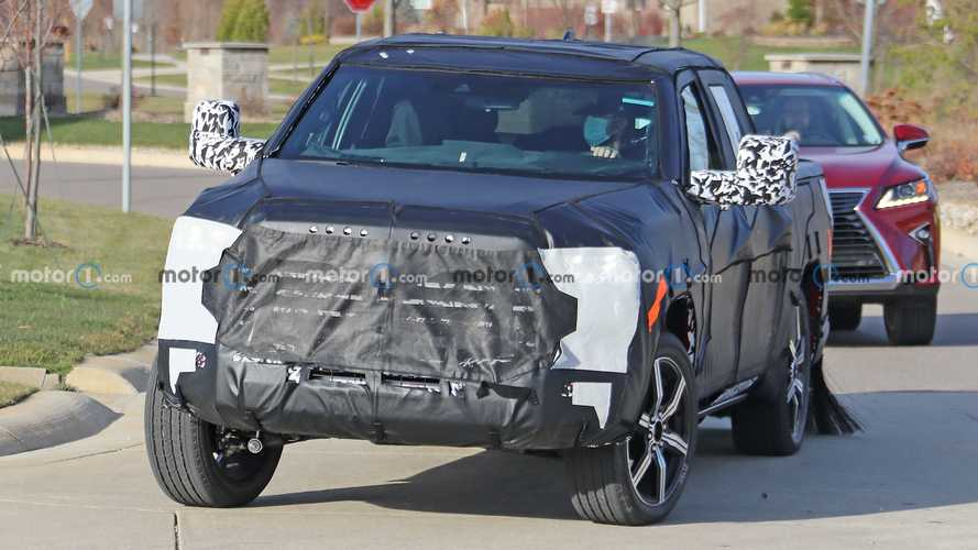 2022 Toyota Tundra Spied Offering Best View Yet At New Truck