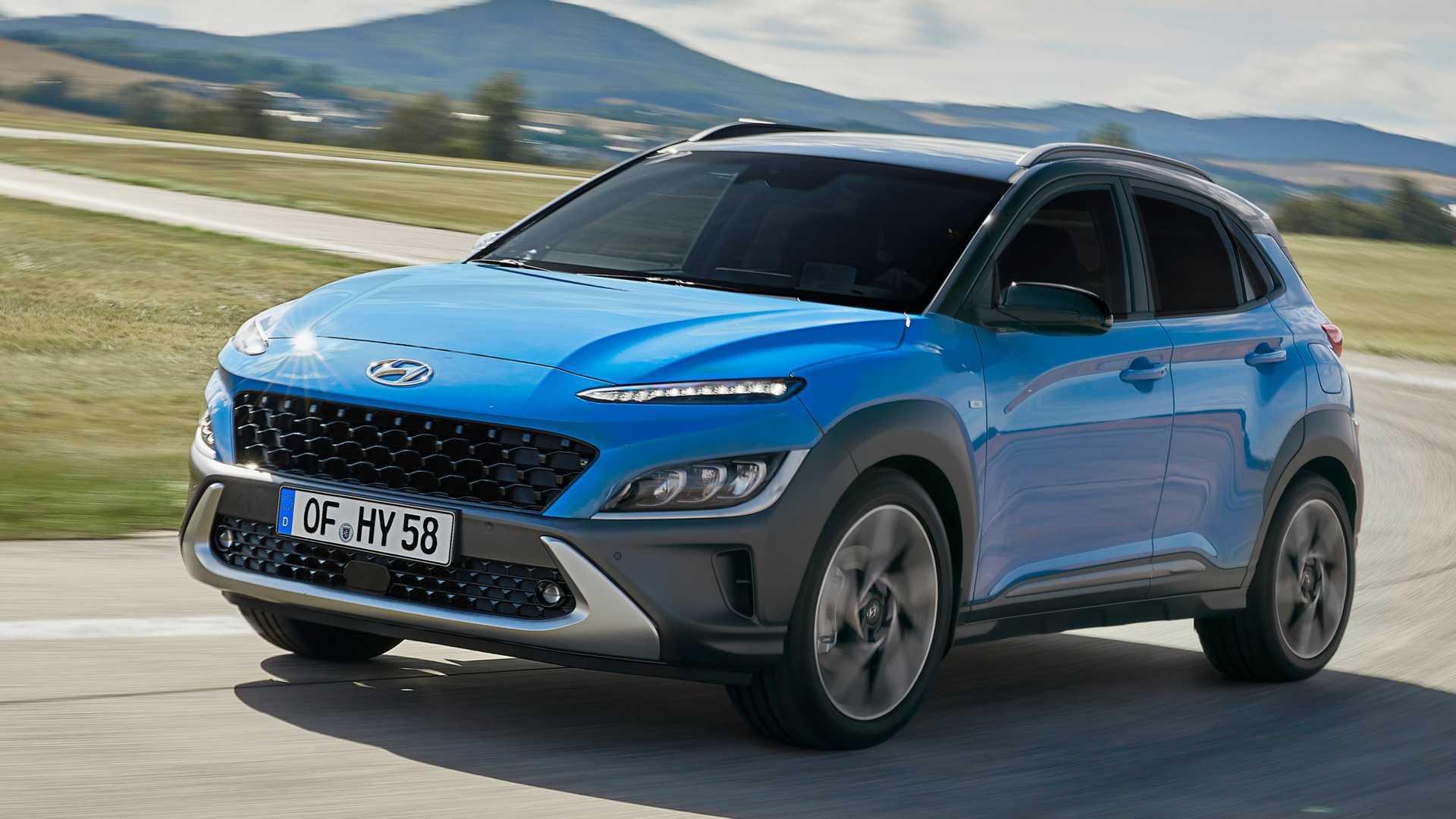 Hyundai Kona Facelift (2021): Jetzt gibt es richtige Bilder