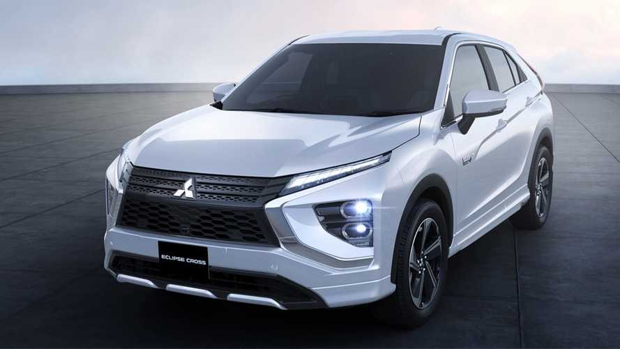 Mitsubishi Eclipse Cross revela visual corrigido e versão híbrida plug-in