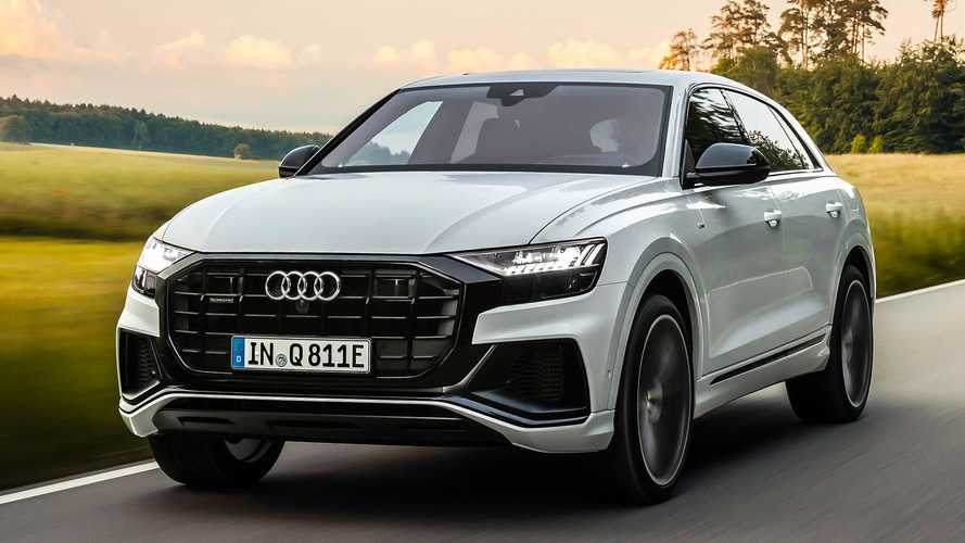 Audi Q8 TFSI e quattro: Plug-in-Hybridmodell rundet Q8-Baureihe ab