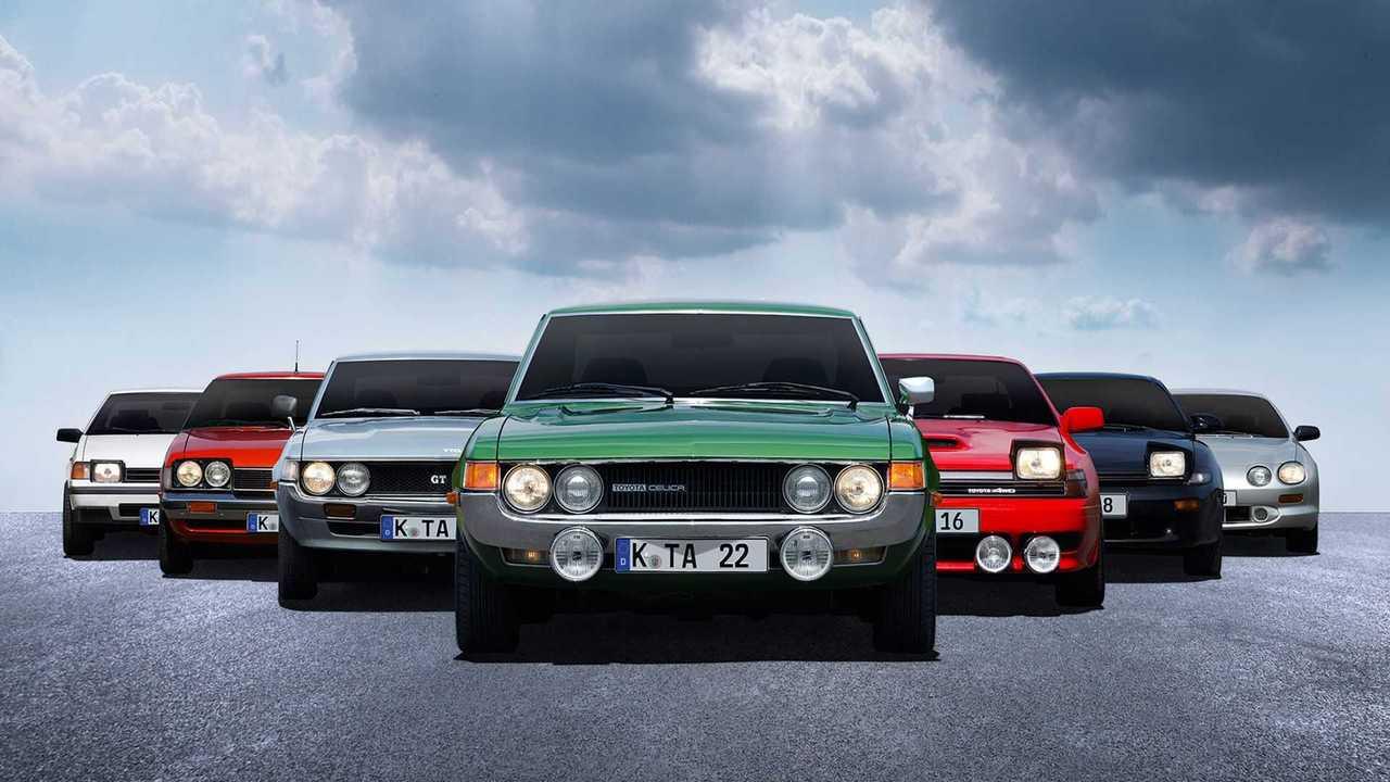 50 éves Toyota Celica