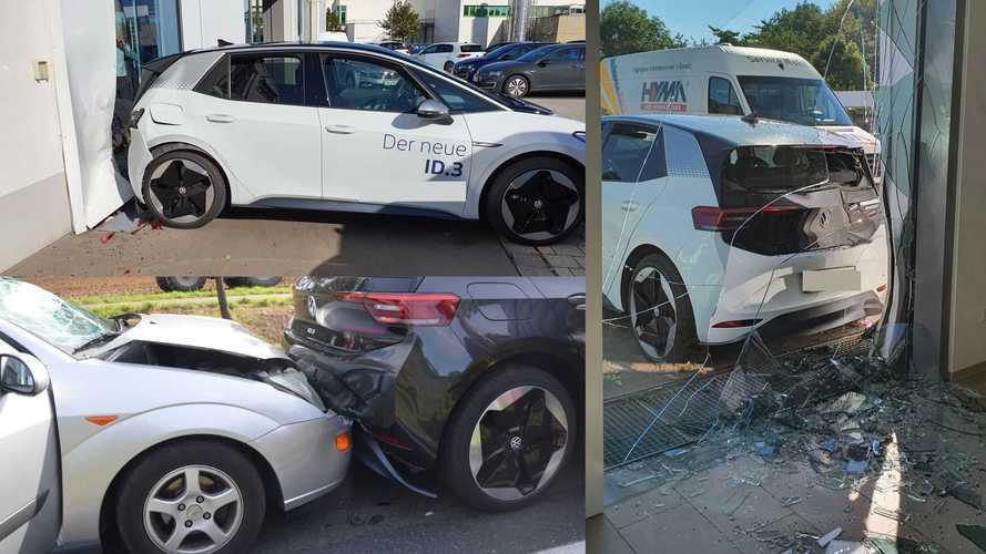 Volkswagen ID.3: primeiros acidentes mostram o quanto ele pode ser popular