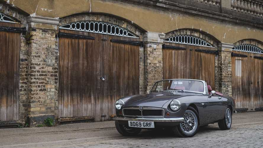 RBW EV Classic Cars Electrifies The MGB Roadster, Yours From £90,000