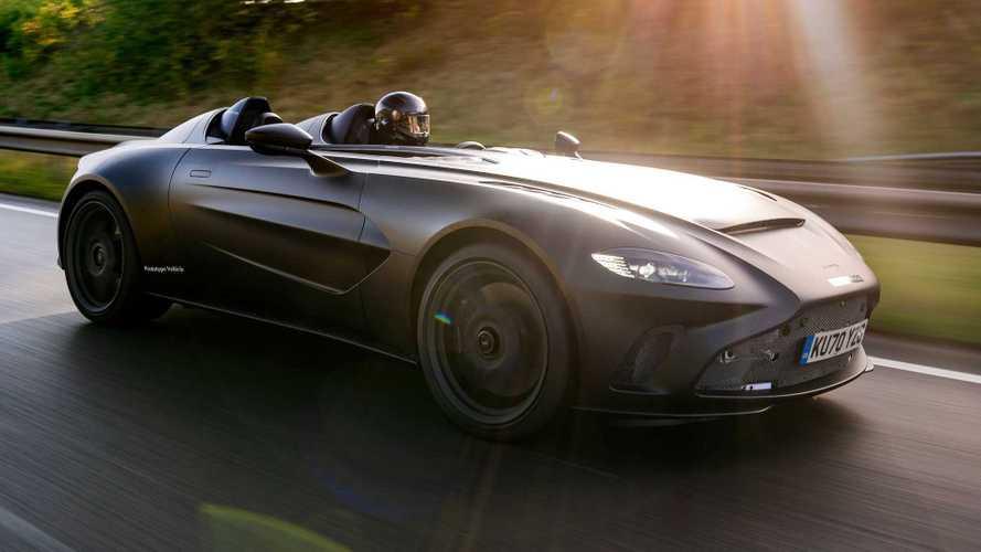 Aston Martin V12 Speedster - Début des essais dynamiques