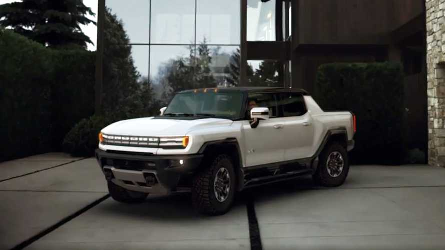 See The GMC Hummer EV In Action In New Official Video