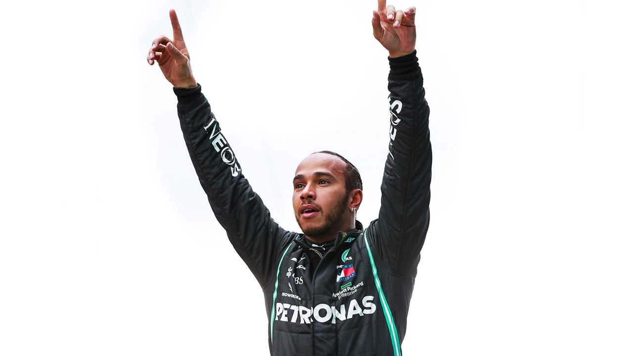 Lewis Hamilton at Turkish GP 2020