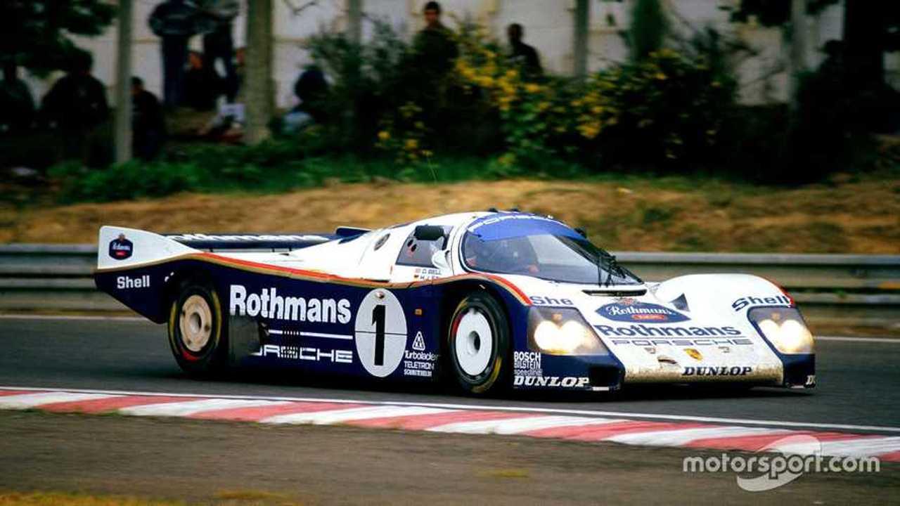 Porsche 962C at Le Mans 1986