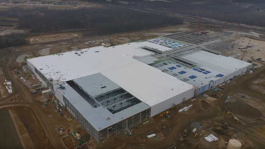 Ultium Cells Battery Plant Construction Progress: January 5, 2021