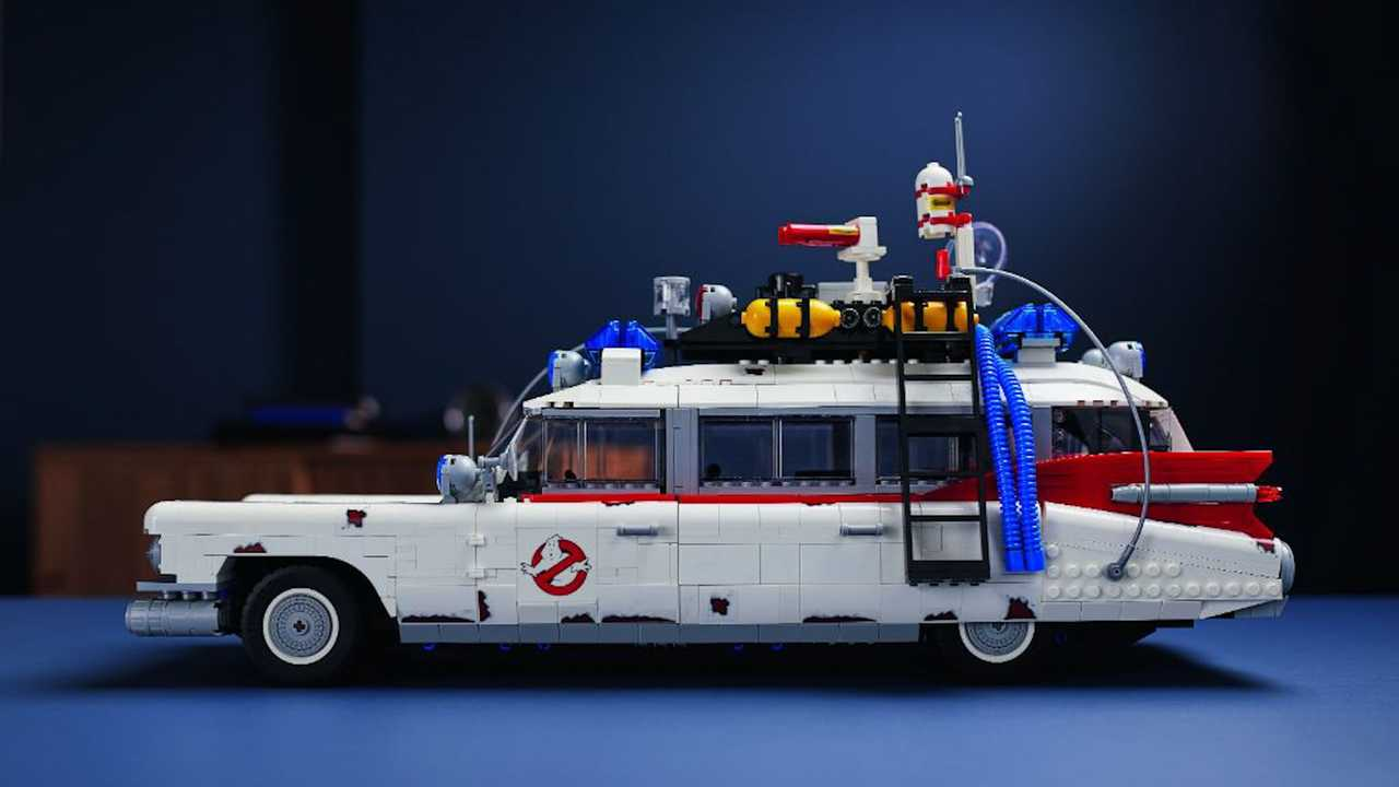 Ghostbusters Ecto-1 Lego