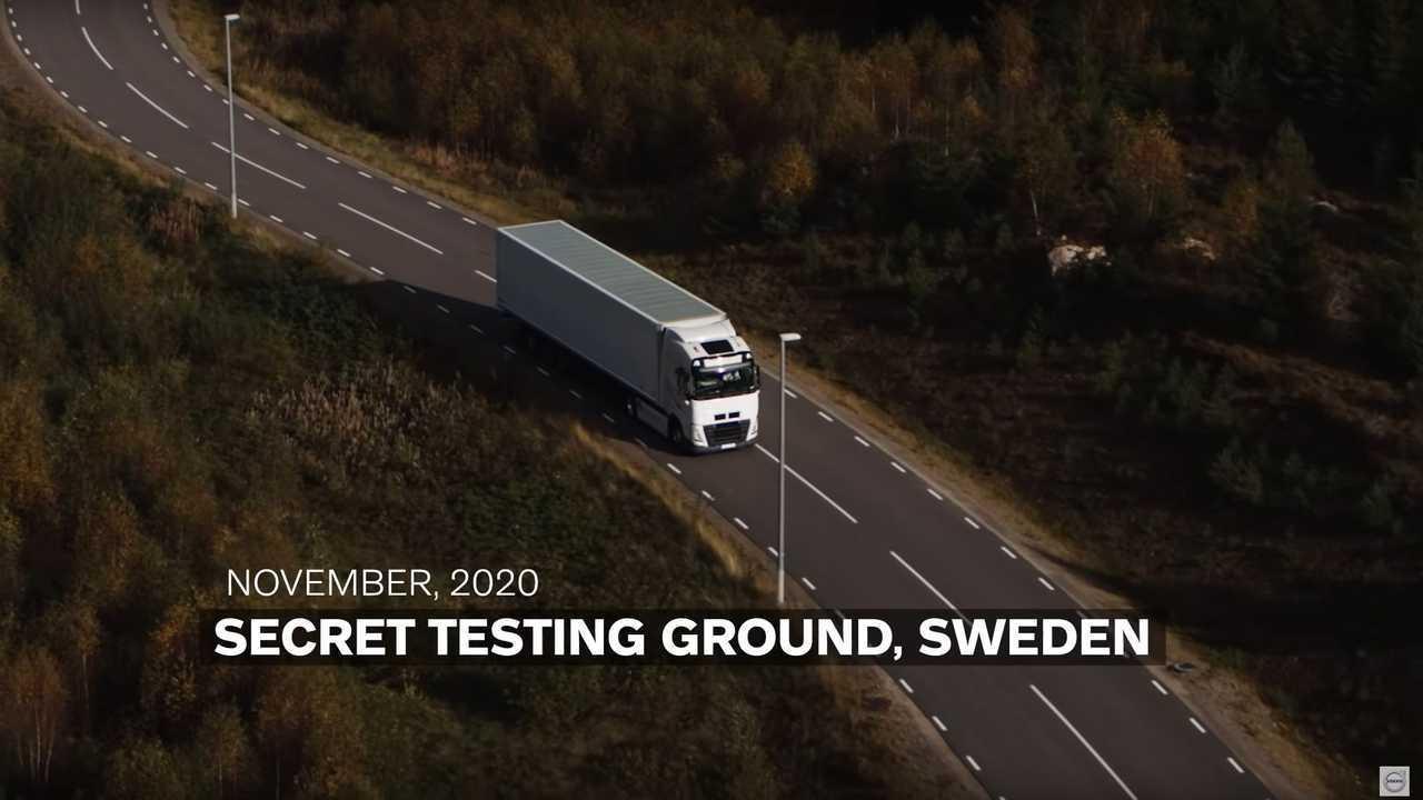 Volvo FH Electric - prototype