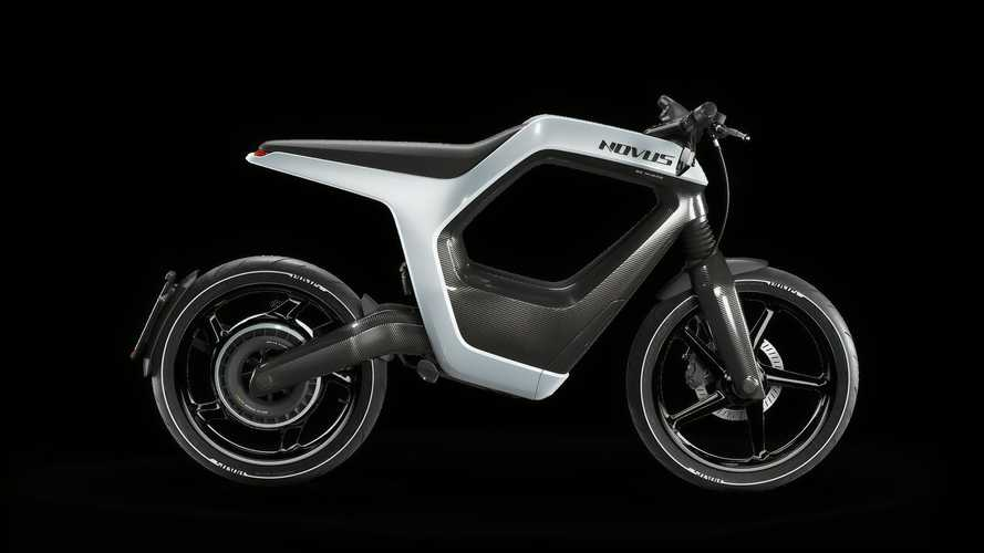 Novus Electric Bike White