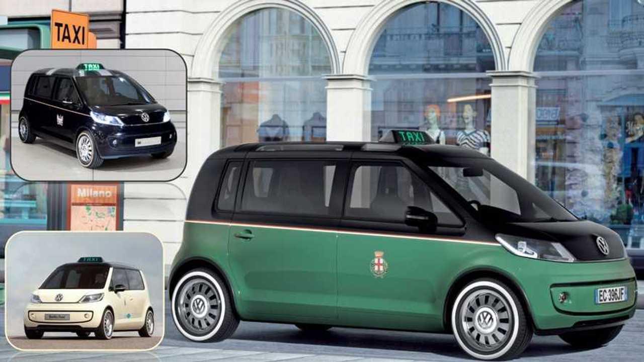 Concept dimenticate - Volkswagen Taxi Berlino/Milano/Londra 2010
