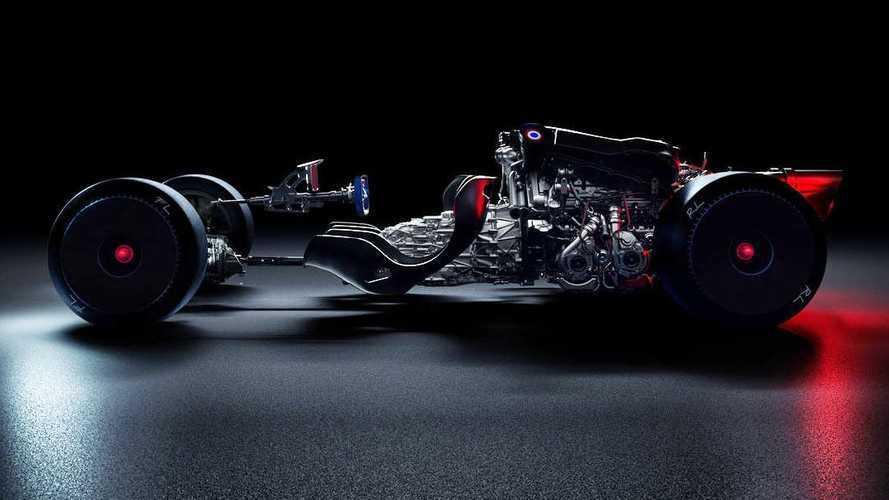La mystérieuse Bugatti se dévoile... sans carrosserie !