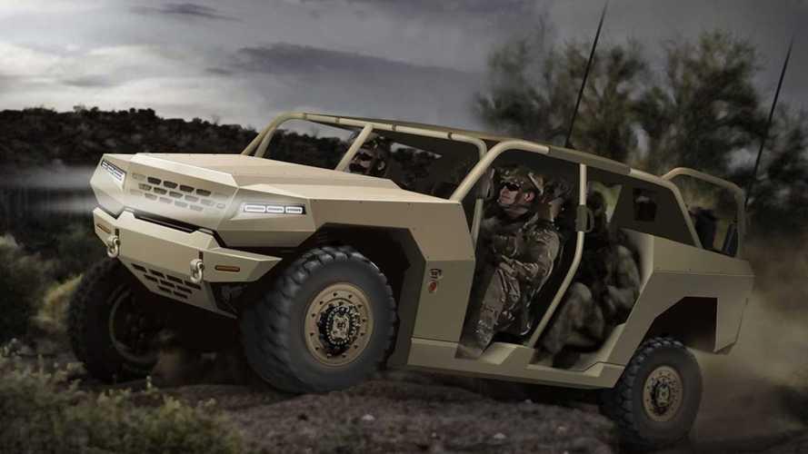 Kia también sabe hacer vehículos militares... aunque no lo sepas