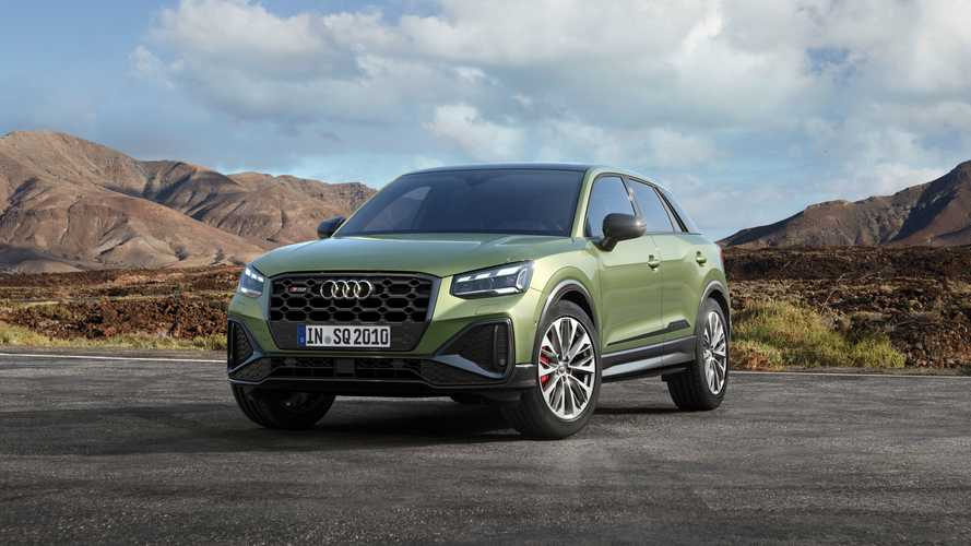 2021 Audi SQ2 facelift