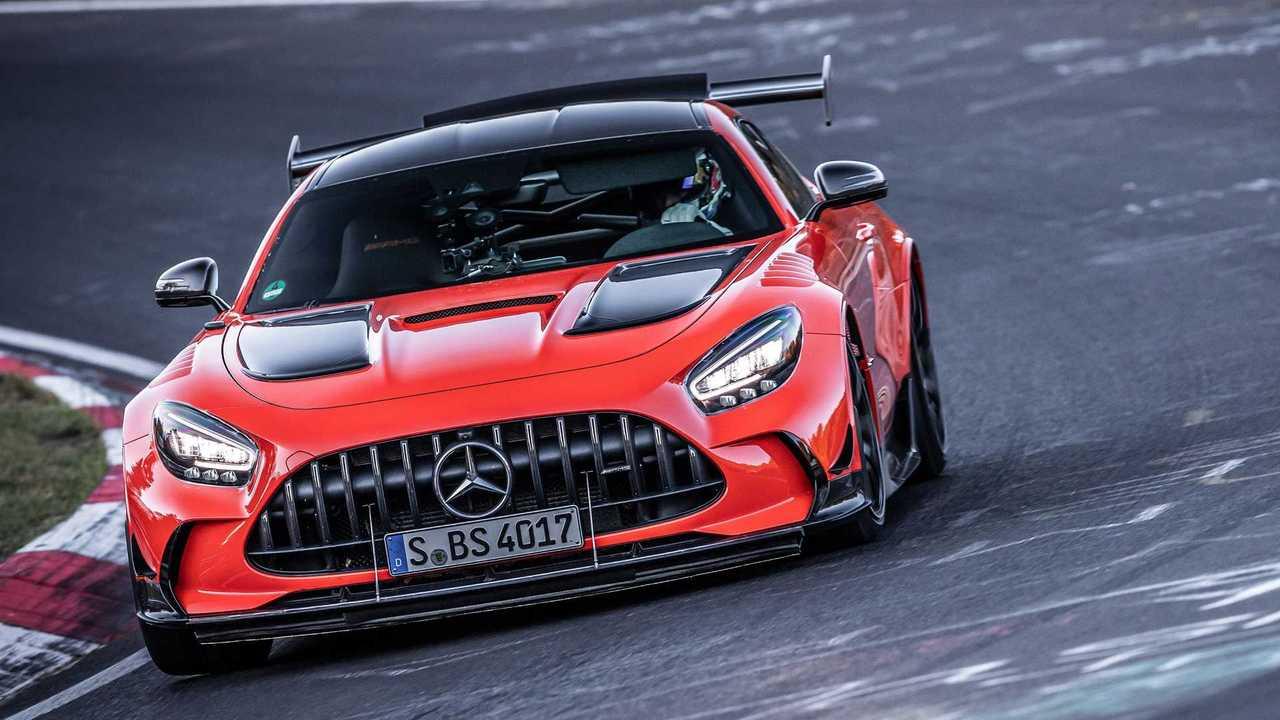 Mercedes-AMG GT Black Series, il record al Nurburgring