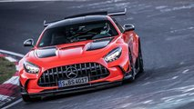 mercedes amg gt black series record inferno