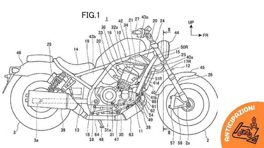 Honda Rebel 1100, ecco i disegni dei brevetti