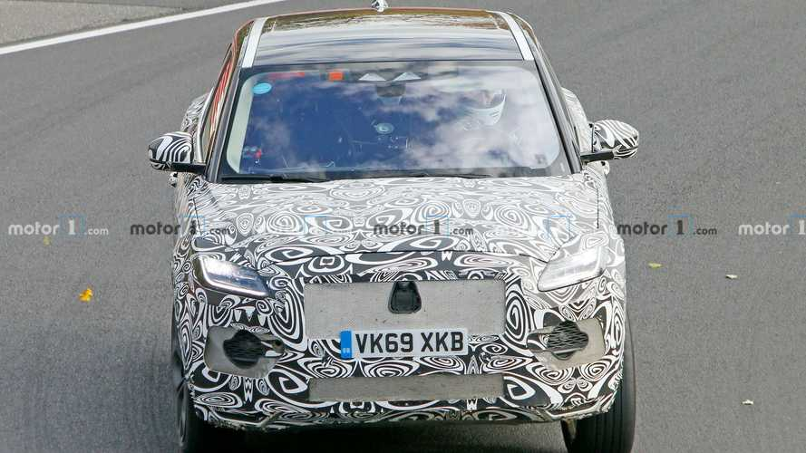 Jaguar E-Pace Facelift Spied At The Nurburgring