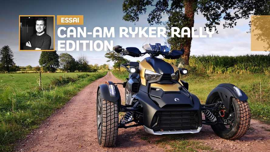 Can-Am Ryker 900 Rally Edition- Le scooter des mers... des terres